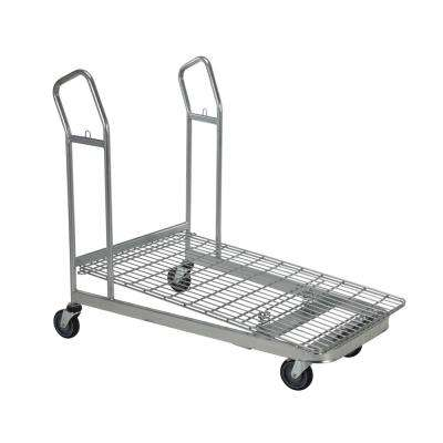 52 in. x 28 in. x 43 in. Nestable Wire Cart