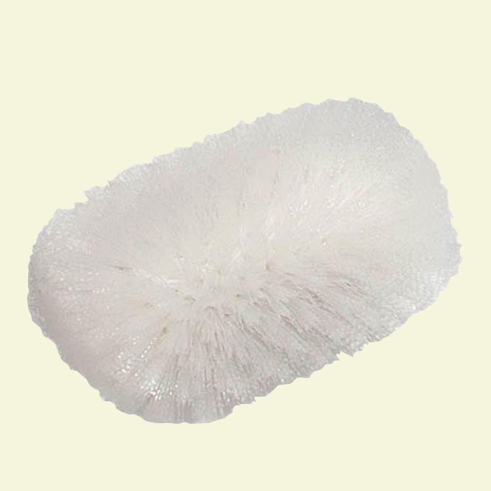 6 in. x 10.5 in. Nylon White Tank Brush (Case of