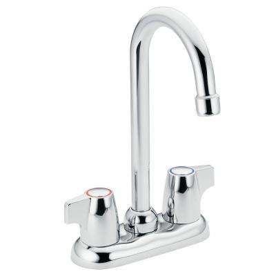 Chateau 2-Handle High-Arc Bar Faucet in Chrome