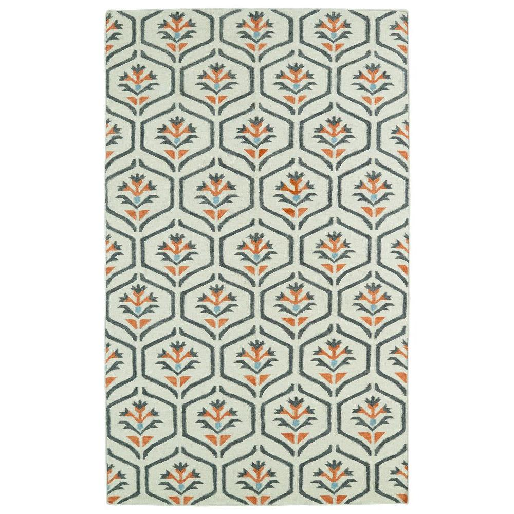 Kaleen Glam Coral 9 ft. x 12 ft. Area Rug