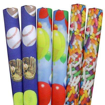 Sprinkles, Sports, Balloons Pool Noodles (6-Pack)