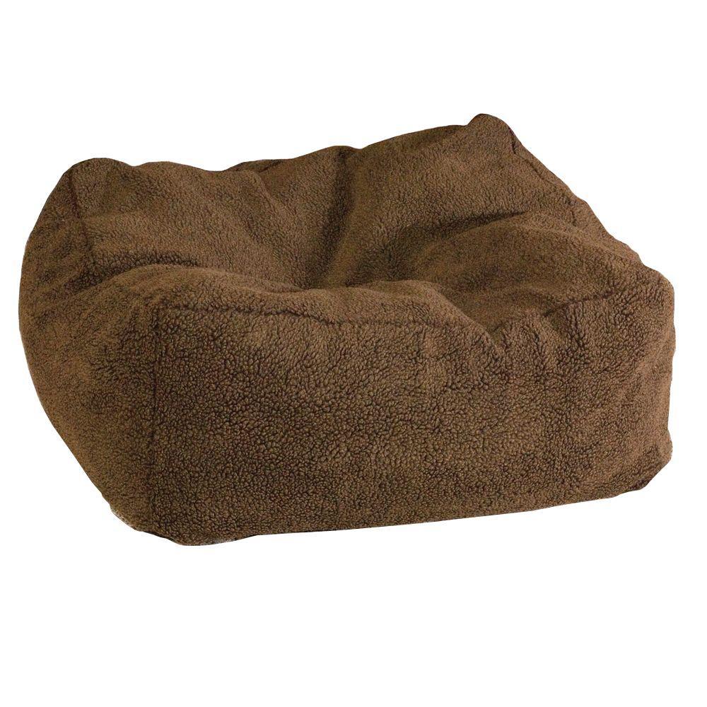 Cuddle Cube Medium Mocha Pet Bed