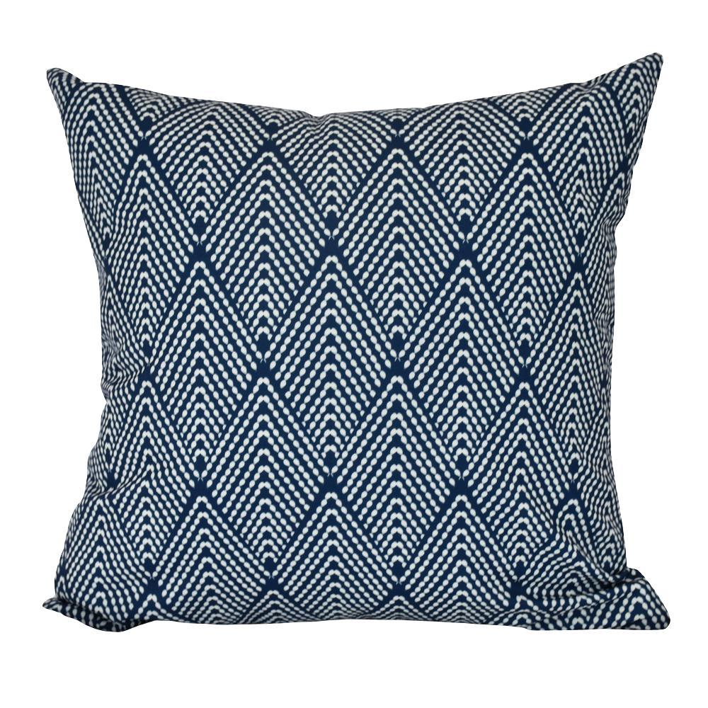 18 in. Lifeflor Geometric Print Decorative Pillow