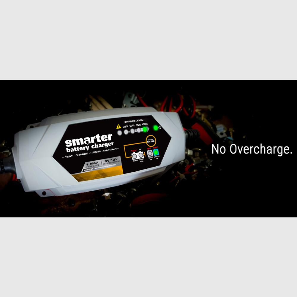 Smartech Products IC-2000 Automotive Battery Charger-IC-2000 - The Home  Depot