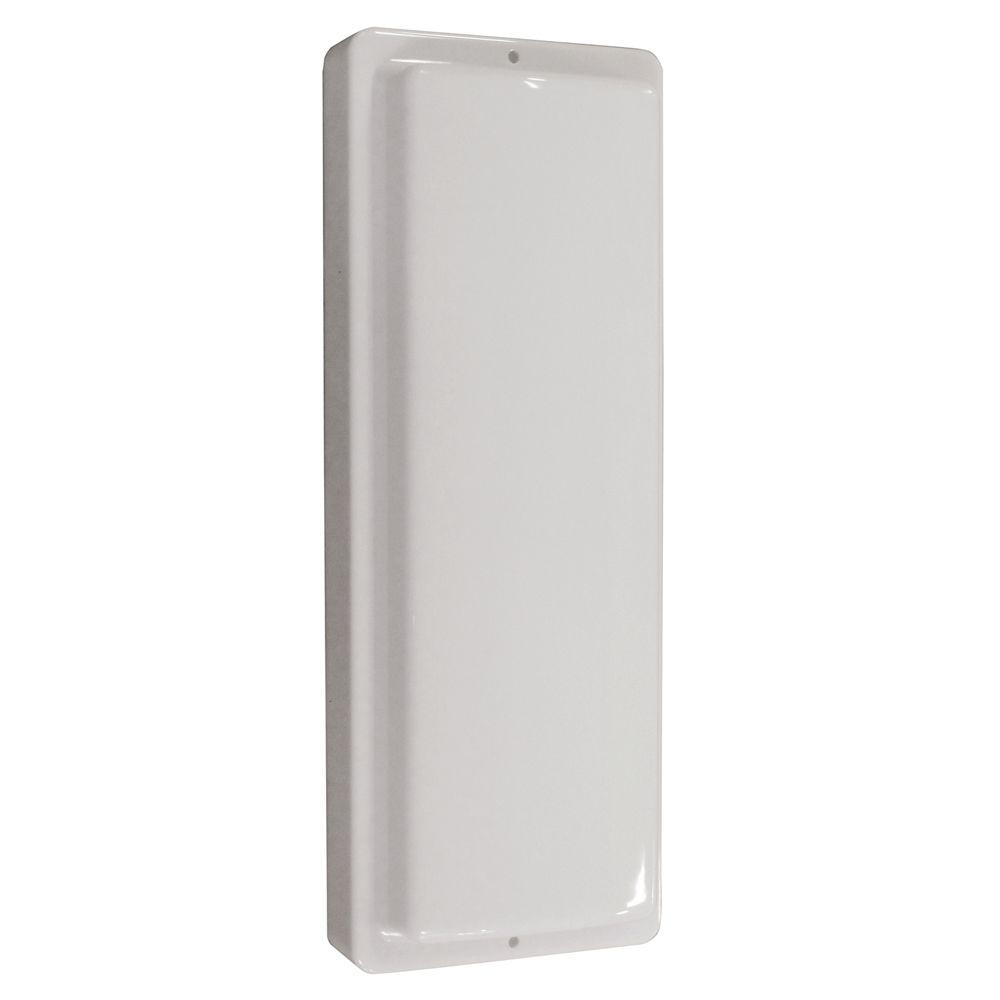Aspects 10.5-Watt White Outdoor Integrated LED Wall Pack Light