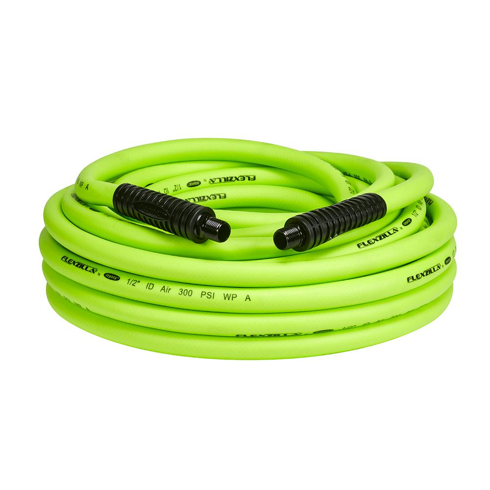 1/2 in. x 50 ft. Air Hose with 1/4 in. MNPT