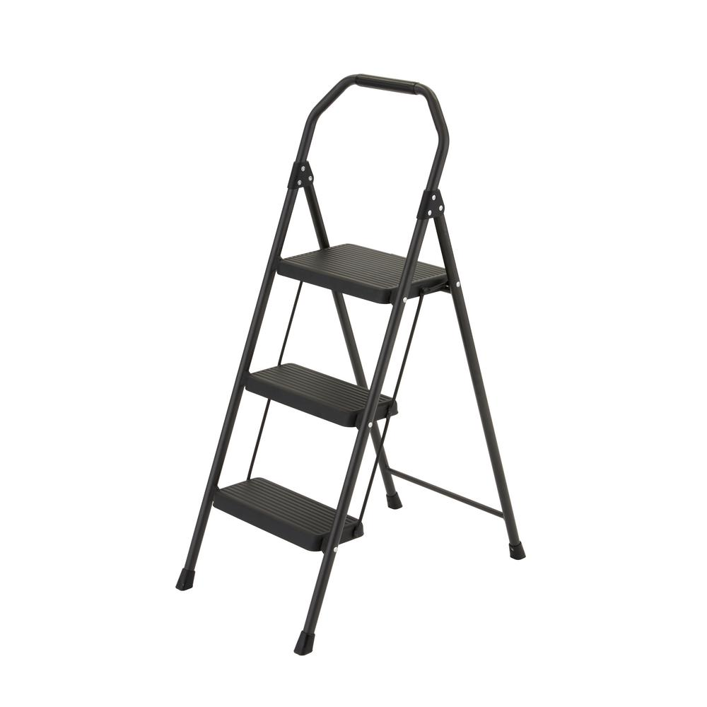 Gorilla Ladders 3 Step Compact Steel Step Stool With 225