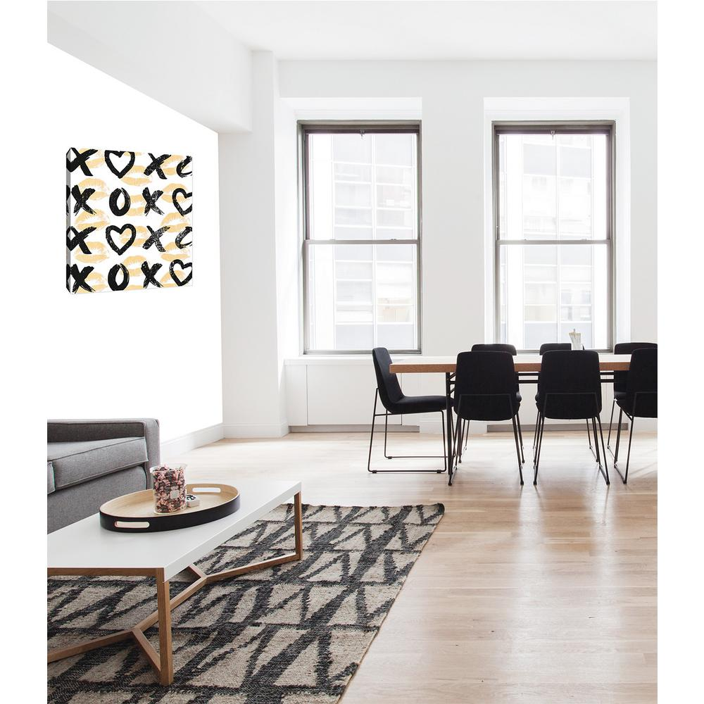 Xoxo furniture Xoxopillow xoxo By Ptm Images Printed Canvas Wall Art Noble Furniture Ptm Images 12 In 10 In xoxo By Ptm Images Printed Canvas