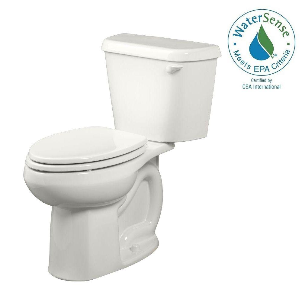 Colony 2-piece 1.28 GPF Tall Height Elongated Toilet in White with