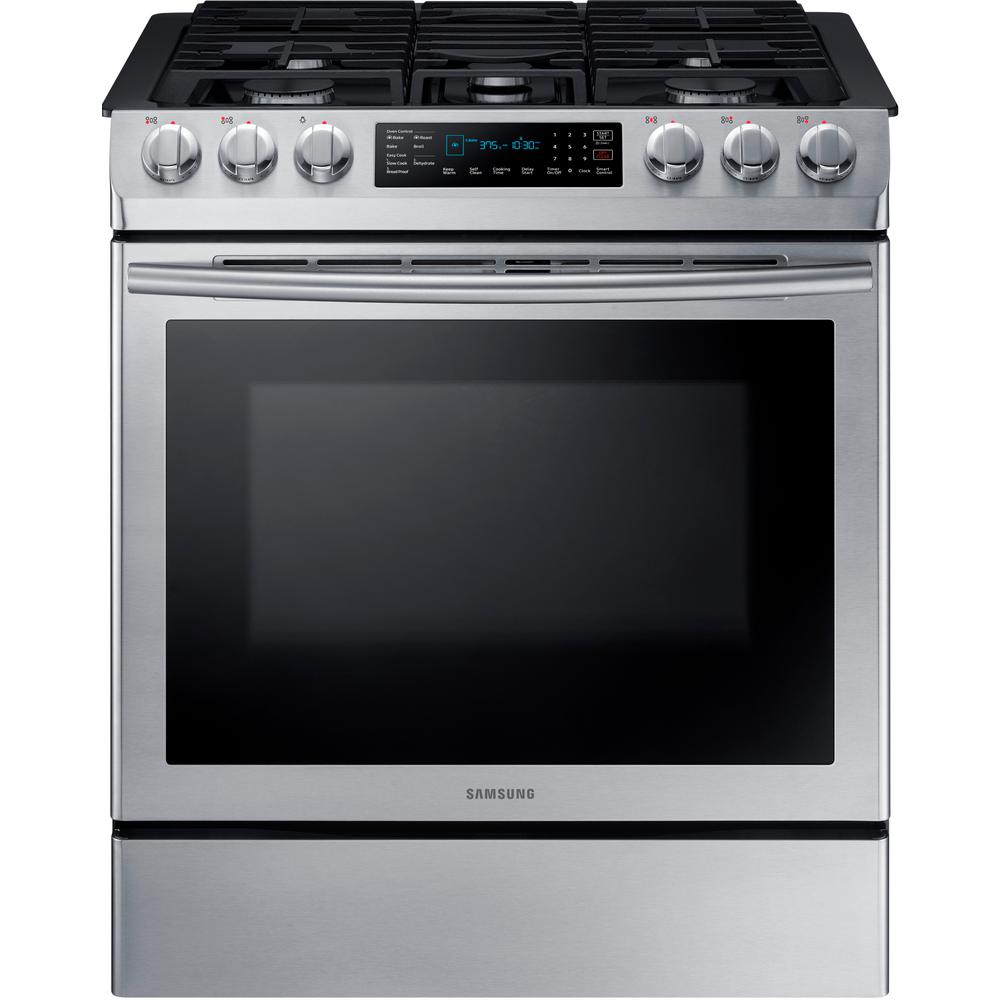 5 8 Cu Ft Single Oven Gas