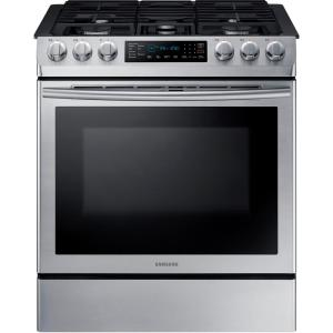 single oven gas slidein range with - Slide In Gas Range