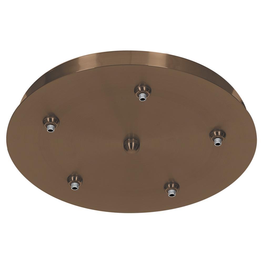 Access Lighting Unijack 1-Light Bronze 5-Port Pendant