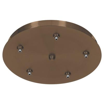 Unijack 1-Light Bronze 5-Port Pendant