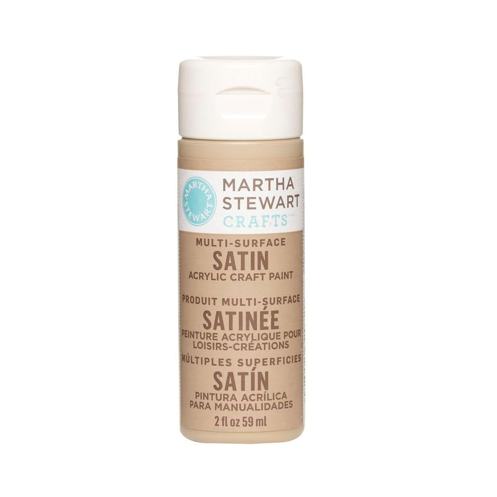 Martha Stewart Crafts 2-oz. Acorn Multi-Surface Satin Acrylic Craft Paint