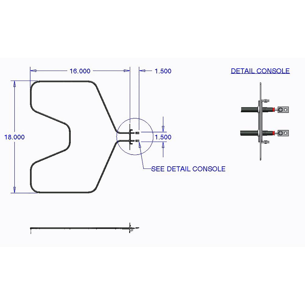 [SCHEMATICS_4NL]  Range Kleen Oven Heating Element-7502 - The Home Depot | Wiring Diagram For Ge Oven Element |  | The Home Depot