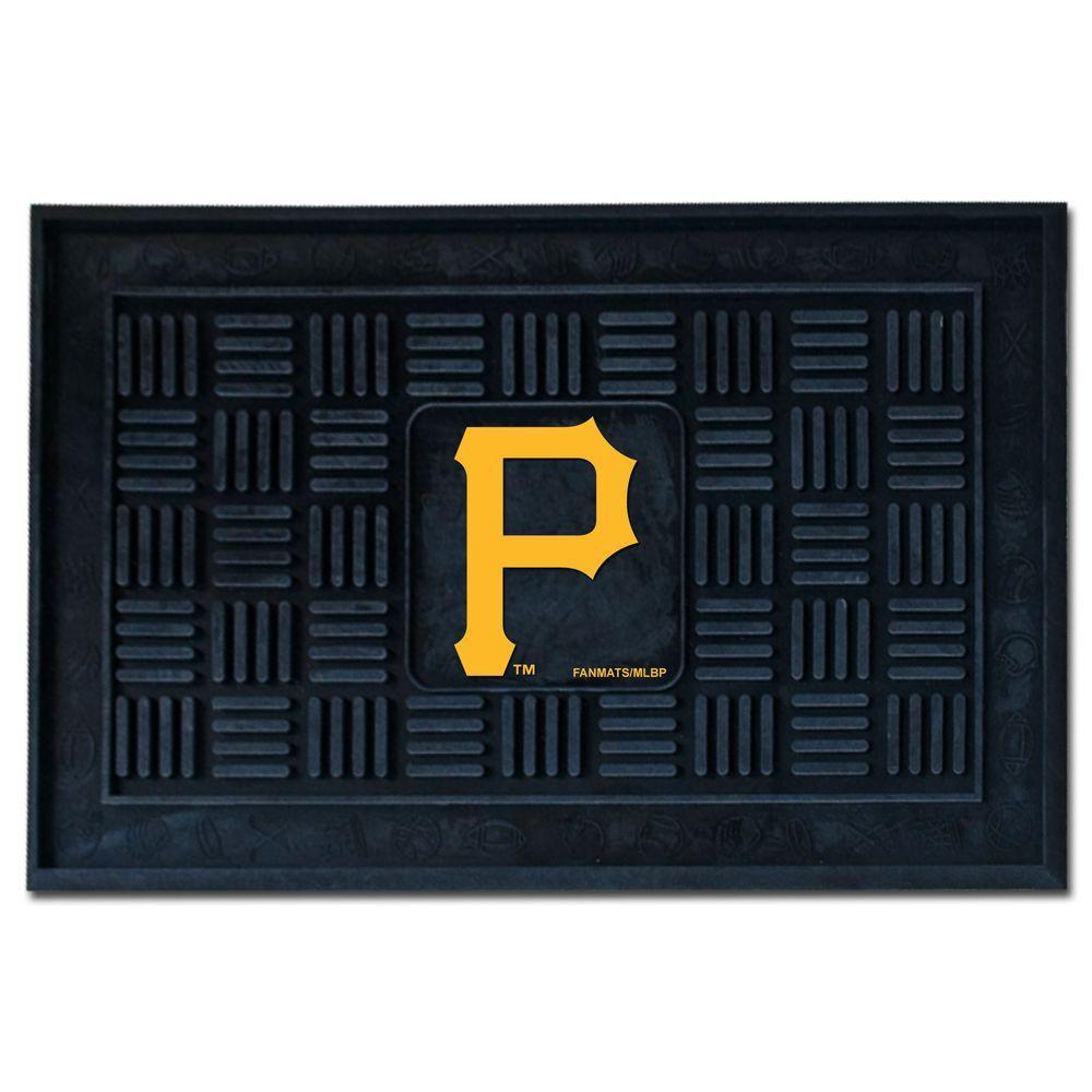 Pittsburgh Pirates 18 in. x 30 in. Door Mat