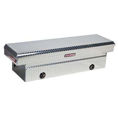 72 in. Diamond Plate Aluminum Full Size Crossbed Truck Tool Box