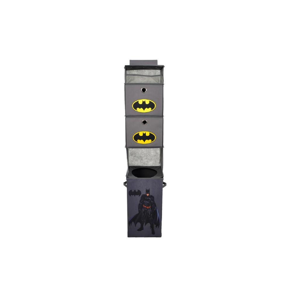 Batman Gray Closet Hanging Organizer Including 2