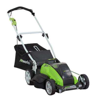 G-MAX 19 in. 40-Volt Lithium-Ion Cordless Battery Push Lawn Mower - Battery and Charger Included