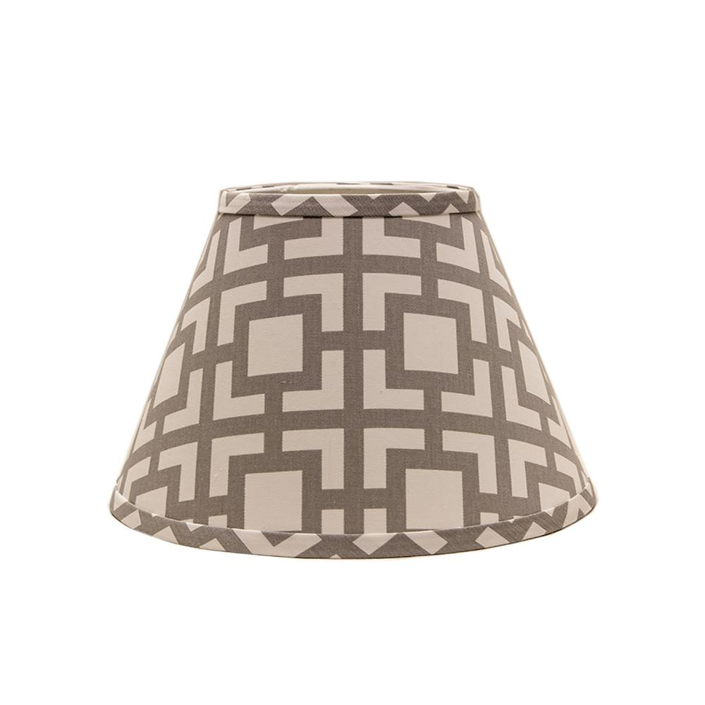 Lamp shades lamps the home depot gray lamp shade arubaitofo Choice Image