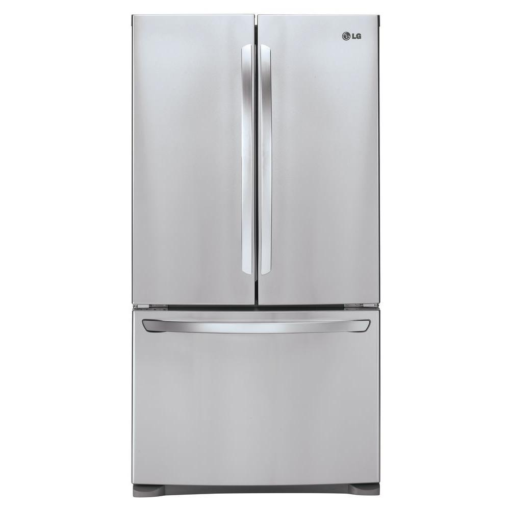 LG Electronics 28 cu. ft. French Door Refrigerator in Stainless Steel