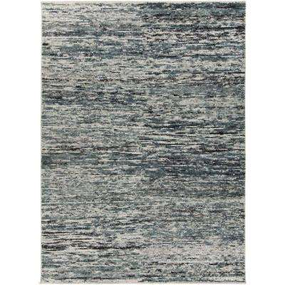 Dexia Blue/Multi 5 ft. x 8 ft. Area Rug