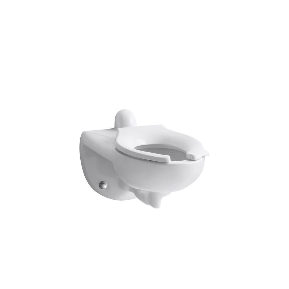 KOHLER Kingston Elongated Toilet Bowl Only in White