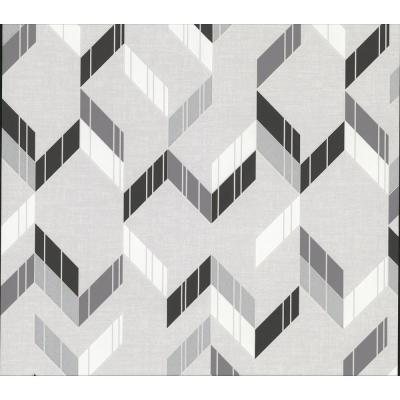 Verity Multicolor Herringbone Wallpaper