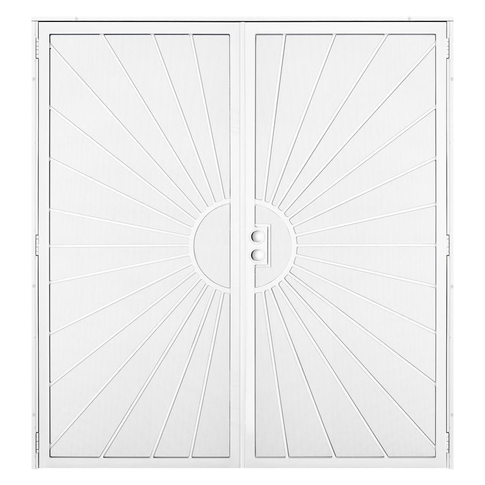 72 x 80 - Security Doors - Exterior Doors - The Home Depot