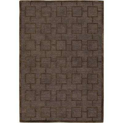 Kumana Brown 8 ft. x 11 ft. Indoor Area Rug