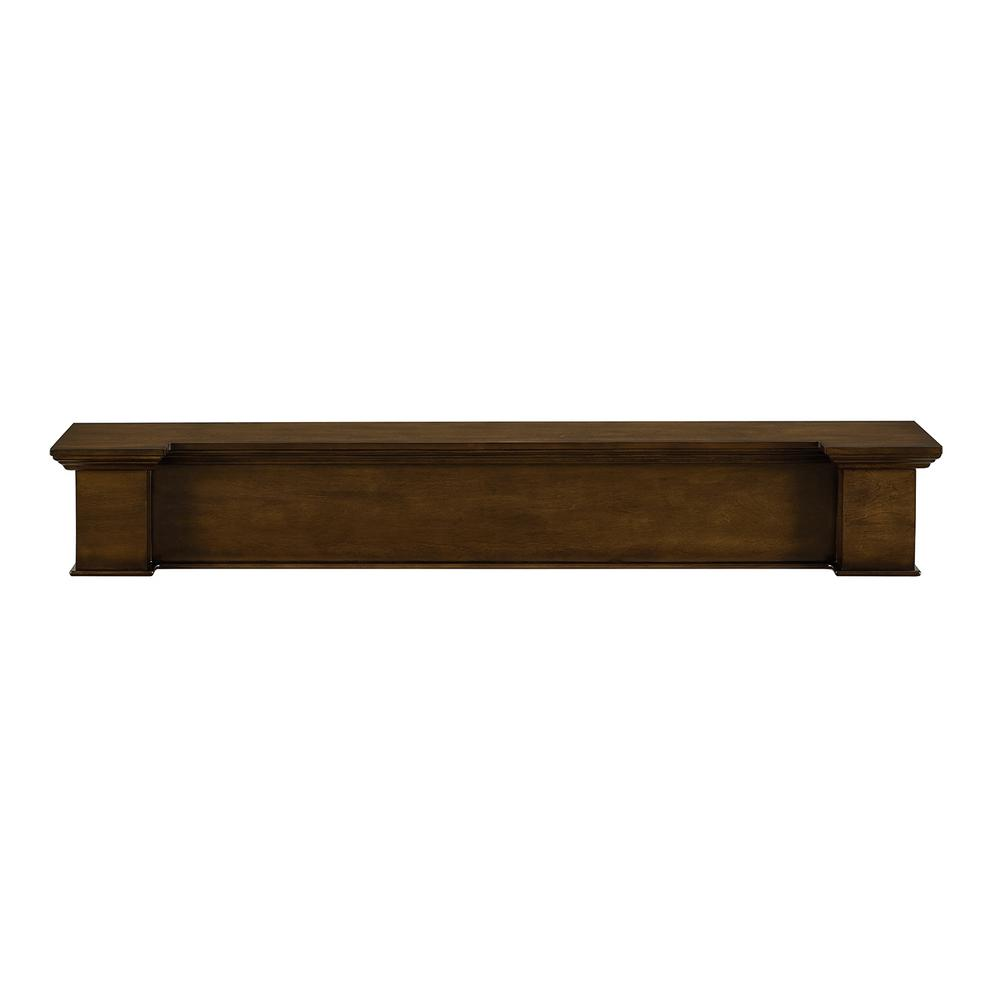 Southern Enterprises Amaryn 60 In X 9 Wide Profile Wall Mounted Floating Mantel