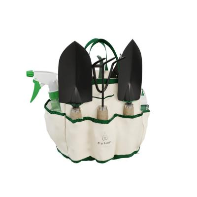 Gardening Hand Tool Set and Tote (8-Piece)