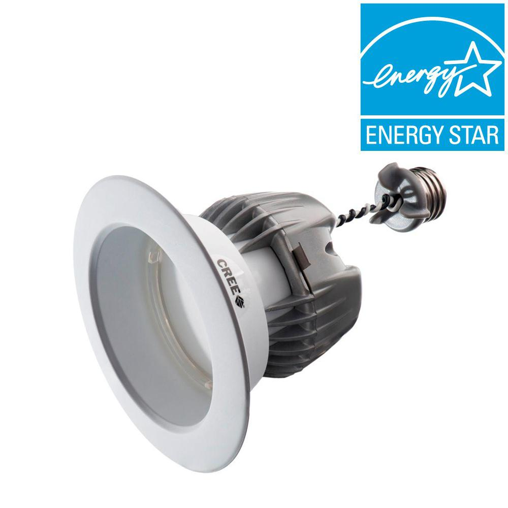 EcoSmart 65W Equivalent Daylight BR20 4 in. Dimmable LED Downlight Bulb