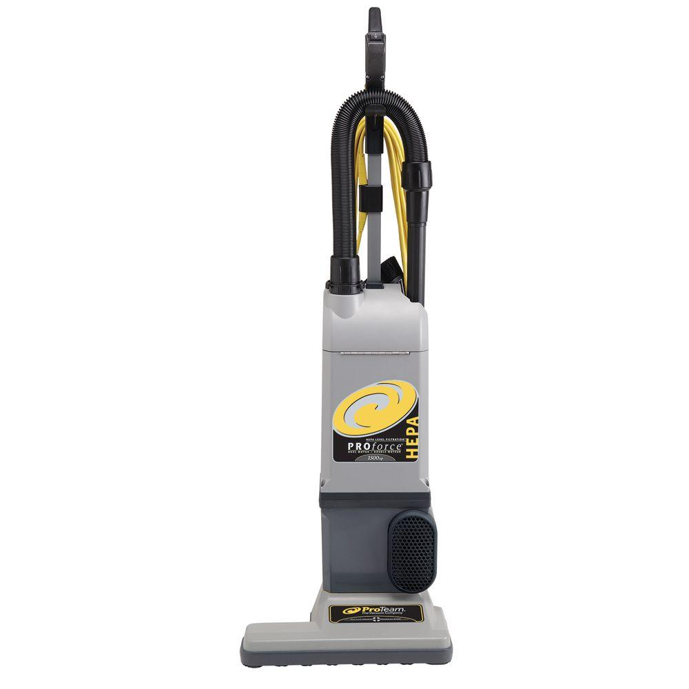 ProTeam ProForce 1500XP HEPA Upright Vac with On-Board Tools
