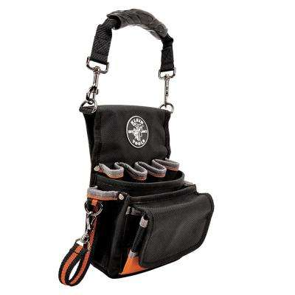 Tradesman Pro 7-1/2 in. 9-Pocket Tool Holster in Black