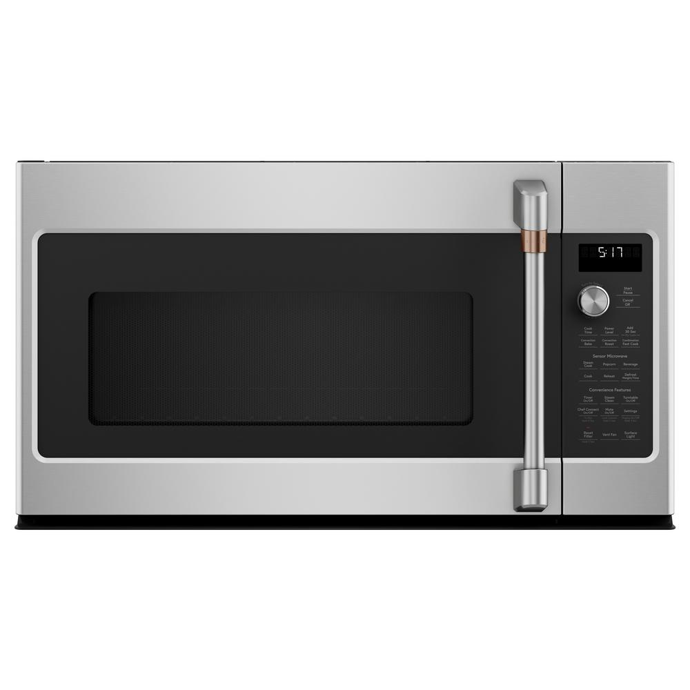 Cafe 1.7 cu. Ft. Over the Range Convection Microwave in Stainless Steel with Sensor Cooking