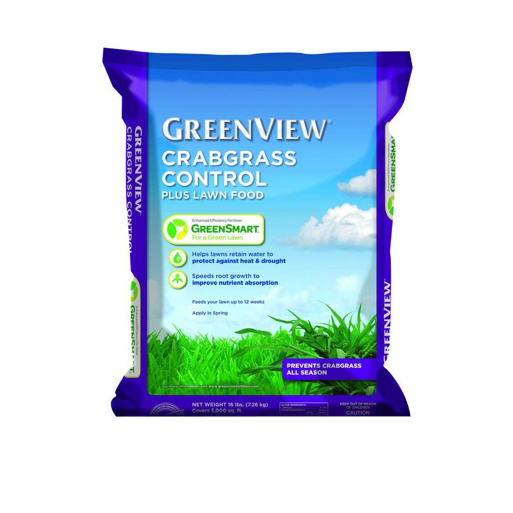 Greenview 13.5 lb. Crabgrass Control Plus Lawn Food