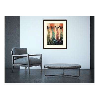 """32 in. H x 26 in. W """"Dance of the Summer Solstice"""" by """" Monica Stewart"""" Framed Print Wall Art"""