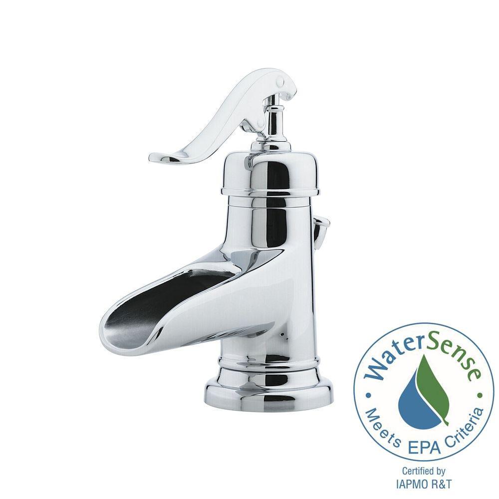 Pfister Ashfield 4 In Centerset Single Handle Bathroom Faucet In