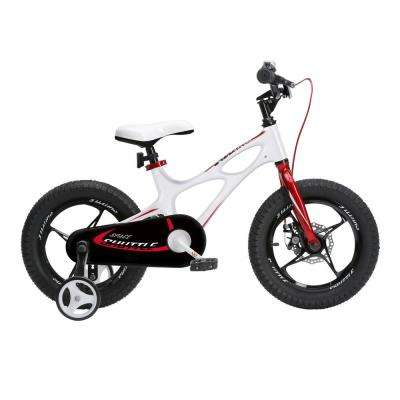 2017 Newly-Launched Space Shuttle Kid's Bike Lightweight Magnesium Frame 16 in. with Training Wheels White