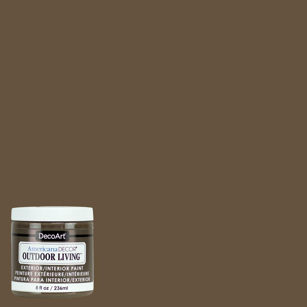 Outdoor Living 8 oz. Tree House Acrylic Paint