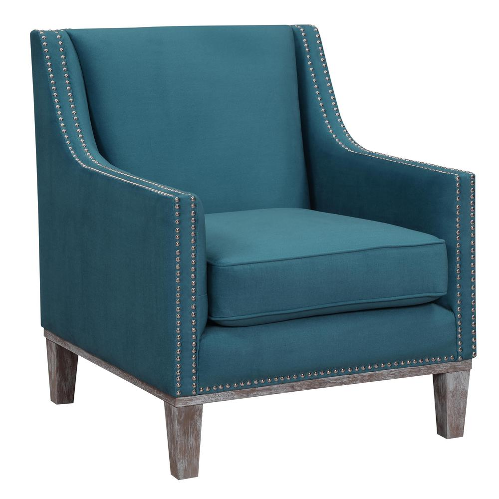 Aster Teal Accent Chair UAG816100DWBCA