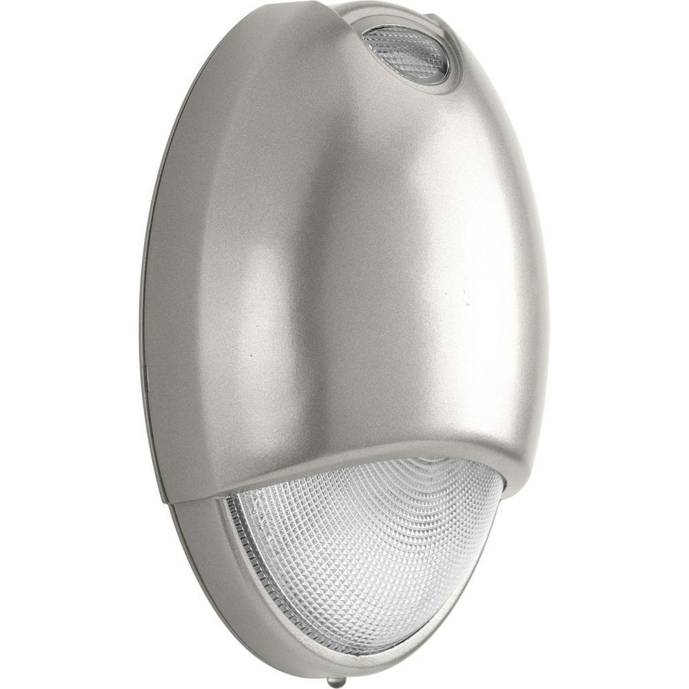 PEOEU Collection 2-Watt Nickel Integrated LED Emergency Light
