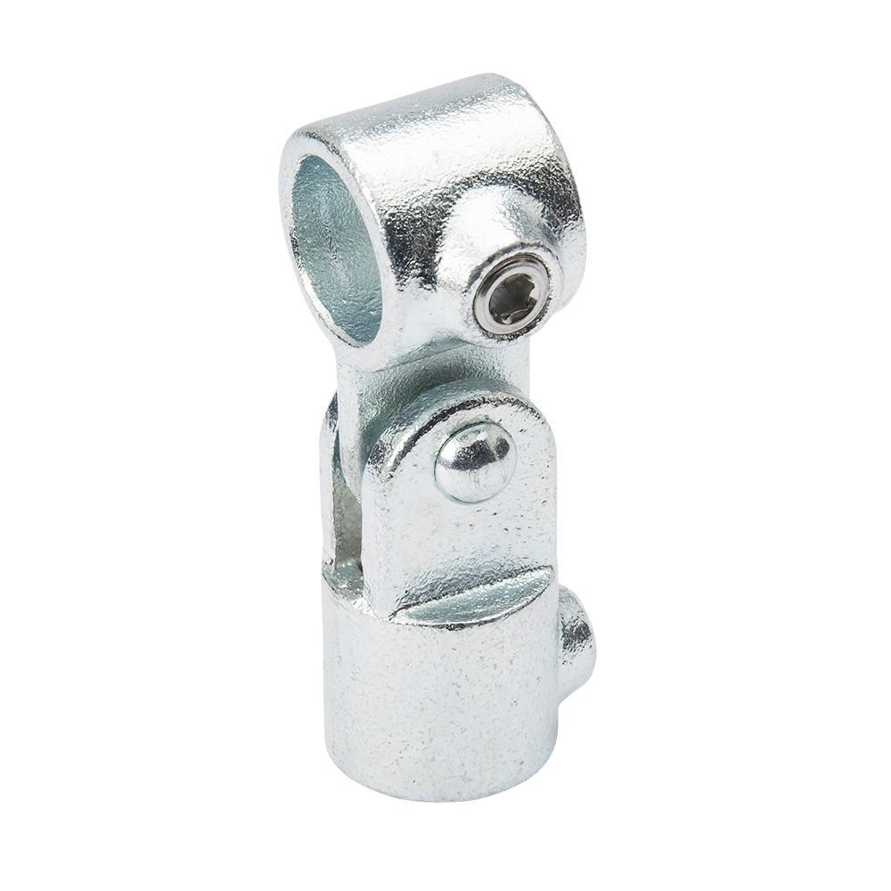 34 In Galvanized Structural Steel Single Swivel Socket 2 Pack