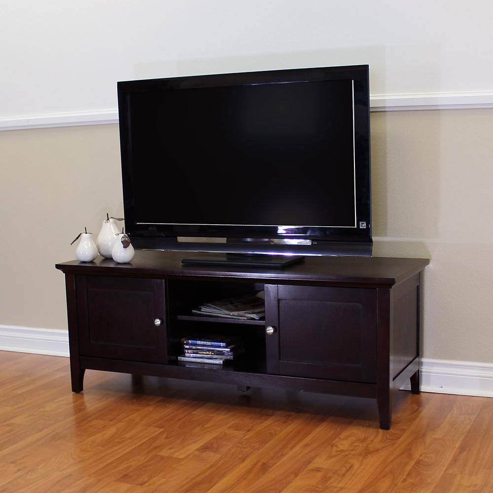 Donnieann Ferndale Espresso Tv Stand Entertainment Center