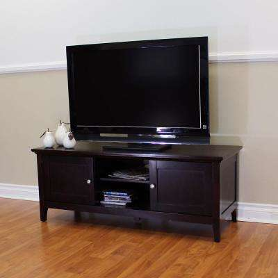 Ferndale Espresso TV Stand/Entertainment Center