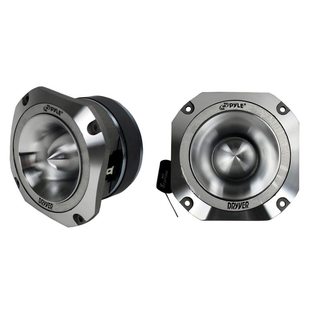 1.5 in. 1000-Watt 4-Ohm Heavy-Duty Titanium Super Car Audio Tweeters, Pair