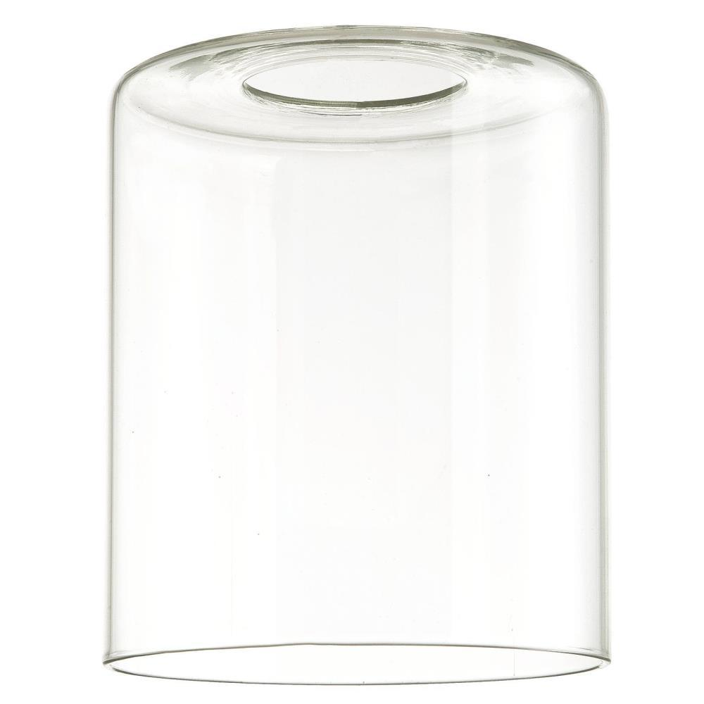 Clear Cylinder Shade With 2 1 4 In Er And 5 16 Width