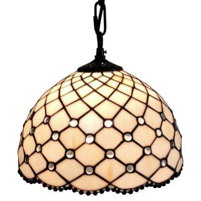 b1ca00603a91 Tiffany Style Jewel Hanging Lamp · Amora Lighting ...