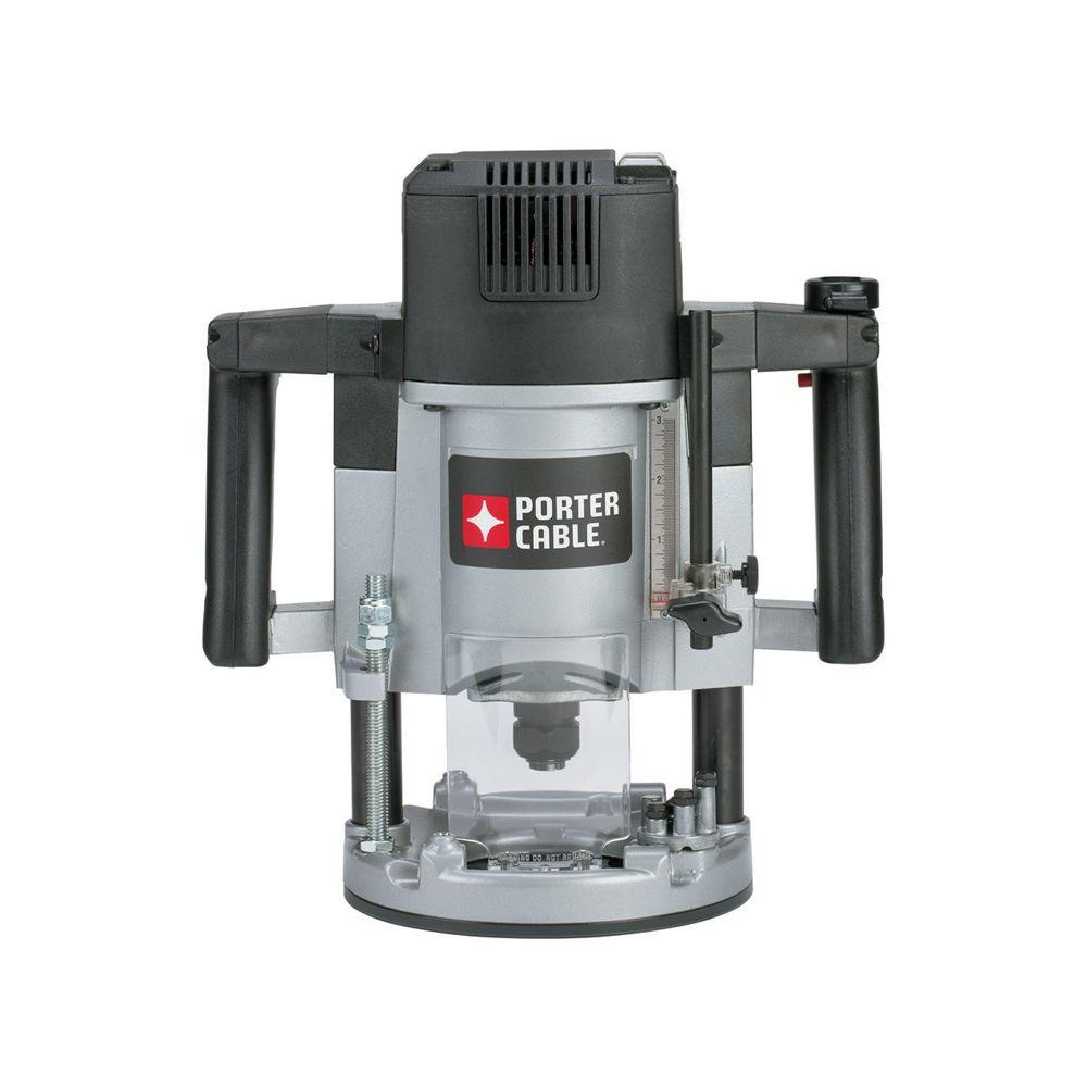 Porter-Cable 3-1/4 HP Single Speed Plunge Router